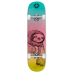 Welcome Sloth on Amulet Skateboard Complete - Rainbow - 8.125""