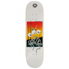 Welcome Masquerade Ryan Townley Pro Model On Enenra Skateboard Deck - White - 8.50""