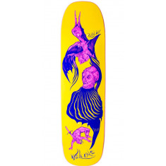 Welcome Isobel Lay on Stonecipher Skateboard Deck - Yellow - 8.60""