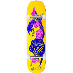 Welcome Isobel Lay on Stonecipher Skateboard Complete - Yellow - 8.60""