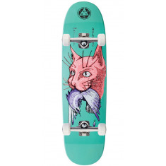 Welcome Miller Cat Gets Bird on Catblood 2.0 Skateboard Complete - Teal - 8.75""