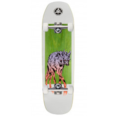 Welcome Maned Woof on Banshee 90 Skateboard Complete - White - 9.00""