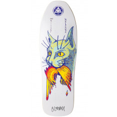 Welcome Miller Cat Gets Bird on Sugarcane Skateboard Deck - White - 10.00""