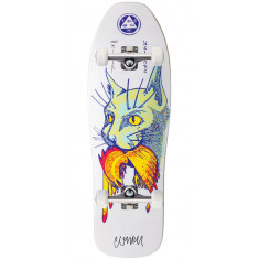 Welcome Miller Cat Gets Bird on Sugarcane Skateboard Complete - White - 10.00""