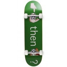 "Pizza Emoji Skateboard Complete - 8.375"" - Green"
