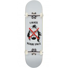 Skate Mental Plunkett I Hate Your Face Skateboard Complete - 8.00""
