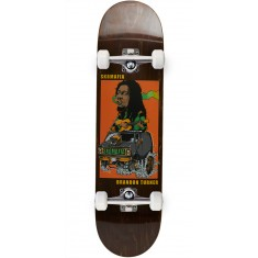 "Sk8 Mafia Legends 2 Turner Skateboard Complete - 8.19"" - Brown"