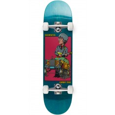 "Sk8 Mafia Legends 2 Cao Skateboard Complete - 7.80"" - Teal"