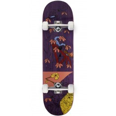 Less Than Local Jupe Flowers Skateboard Complete - 8.50""