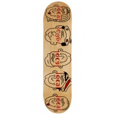 Less Than Local Logo Family Skateboard Deck - 8.00""
