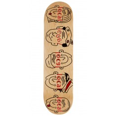 Less Than Local Logo Family Skateboard Deck - 8.25""