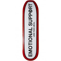 Less Than Local Emotional Support Skateboard Deck - 8.50""