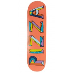 Pizza Stained Glass Skateboard Deck - 8.50""