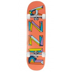 """Pizza Stained Glass Skateboard Complete - 8.50"""""""