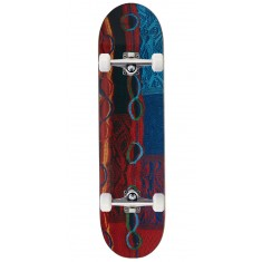 Trap X Coogi Bright Patchwork Skateboard Complete - 8.00""
