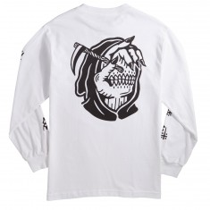 Sketchy Tank Dead Long Sleeve T-Shirt - White