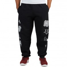 Sketchy Tank Restless Sweatpant - Black