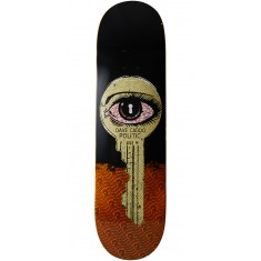 "Politic Unlocked Skateboard Deck - 8.50"" - Orange"
