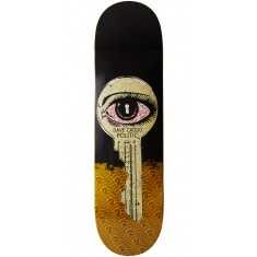 "Politic Unlocked Skateboard Deck - 8.50"" - Yellow"