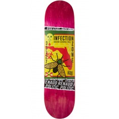 "Politic Ziki Skateboard Deck - 8.00"" - Pink"