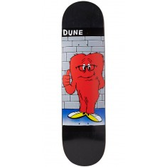 "Prime Wood Dune Gossamer Skateboard Deck - 8.25"" - Black"