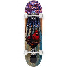 "Paisley Bird In A Bush Skateboard Complete - 8.50"" - Natural Blue"