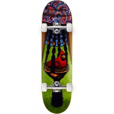 "Paisley Bird In A Bush Skateboard Complete - 8.50"" - Green"
