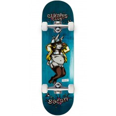 "Bacon Slayers Club Carson Skateboard Complete - 9.00"" - Teal"