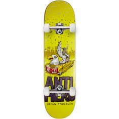 "Anti-Hero BA First Skateboard Complete - 8.25"" - Purple"