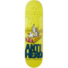 "Anti-Hero BA First Skateboard Deck - 8.25"" - Blue"