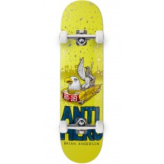 "Anti-Hero BA First Skateboard Complete - 8.25"" - Blue"