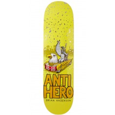 "Anti-Hero BA First Skateboard Deck - 8.25"" - Yellow"