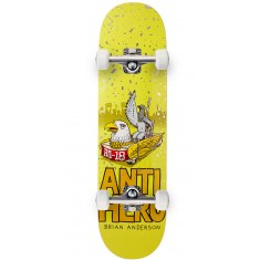 "Anti-Hero BA First Skateboard Complete - 8.25"" - Yellow"