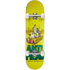 "Anti-Hero BA First Skateboard Complete - 8.25"" - Teal"