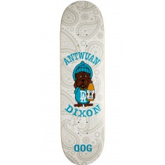 "RawDogRaw Sloshed Puppy Skateboard Deck - 8.25"" - White"