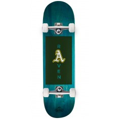 "Chocolate Tershy Slugger Skateboard Complete - 8.50"" - Teal"