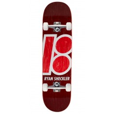 Plan B Sheckler Stained Skateboard Complete - 8.125""