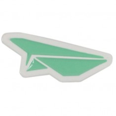 Benny Gold Paper Plane Pin - Mint