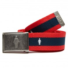 Girl OG Bottle Opener Belt - Navy/Red