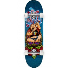 "Paisley Hang Lucifer Skateboard Complete - 8.50"" - Blue"