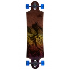 Landyachtz Switchblade 38 Mountain Yellow Fade Longboard Complete