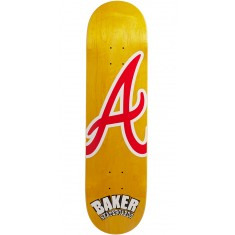 "Baker Reynolds ATL Veneer Skateboard Deck - 8.125"" - Yellow"