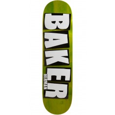 "Baker Herman Brand Name Veneer Skateboard Deck - 8.25"" - Green"