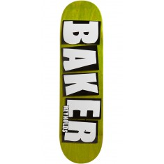 "Baker Reynolds Brand Name Veneer Skateboard Deck - 8.38"" - Green"