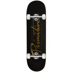 "Primitive Nuevo Team Skateboard Complete - 8.75"" - Black/Gold"