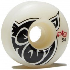 Pig Head Natural Skateboard Wheels - 54mm