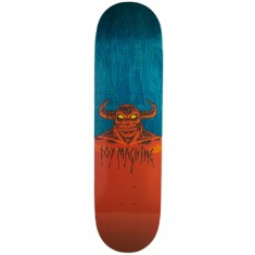"Toy Machine Hell Monster Skateboard Deck - 8.75"" - Teal Stain"