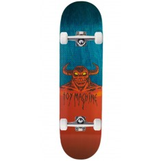 "Toy Machine Hell Monster Skateboard Complete - 8.75"" - Teal Stain"
