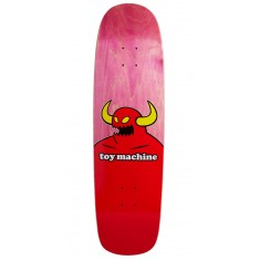 "Toy Machine Monster Skateboard Deck - 9.00"" - Pink Stain"