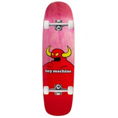 "Toy Machine Monster Skateboard Complete - 9.00"" - Pink Stain"